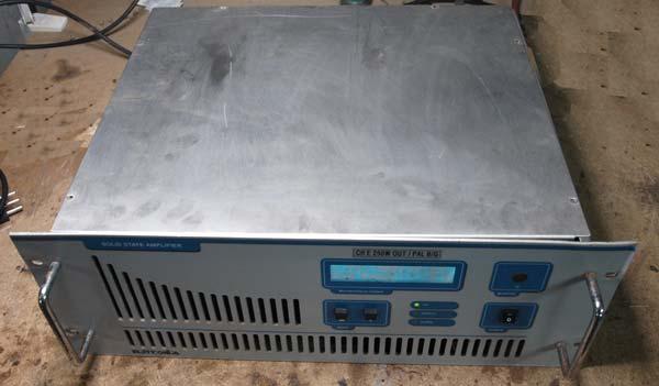 250/280W VHF Band III Broadcast TV Amplifier