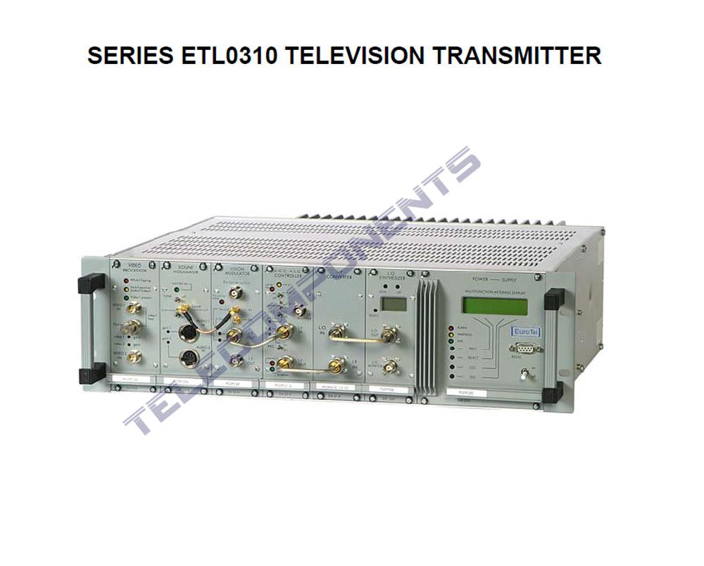 2 Kw Eurotel Tv Uhf Transmitter Model Etl550 With Audio
