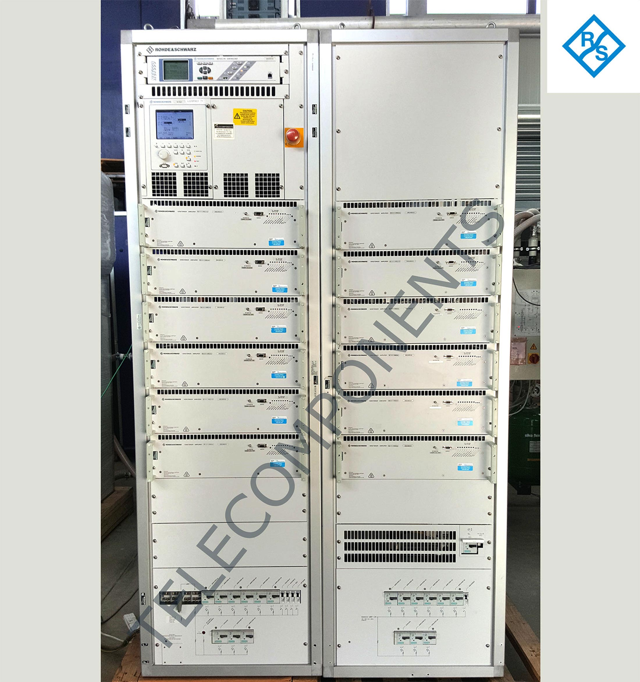 Refurbished Used And New Tv Fm Transmitter Circuit 20 Kw Uhf Rohde Schwarz