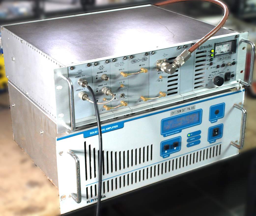 250/280W Elettronika Broadcast TV Transmitter used